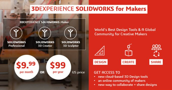 3DEXPERIENCE SOLIDWORKS for Makers - DPS Software