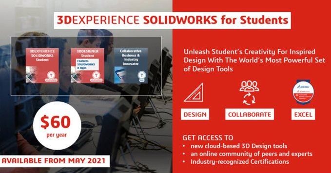 3DEXPERIENCE SOLIDWORKS for Students - DPS Software