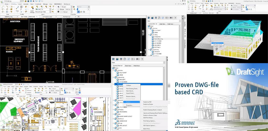 DraftSight nowości oprogramowania cad 2d