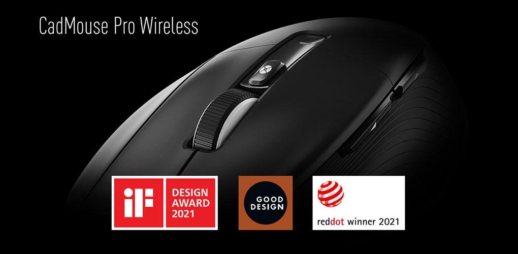 3DConnexion CadMouse Pro Wireless - arcydzieło wzornictwa i ergonomii