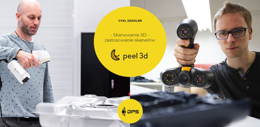 Zapraszamy na cykl bezpłatnych webinarów dotyczących skanowania 3D.