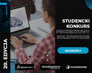 Studencki Konkurs Projektowy SOLIDWORKS 20 jubileuszowa edycja